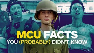 Video 19 Things You (Probably) Didn't Know About the Entire Marvel Cinematic Universe MP3, 3GP, MP4, WEBM, AVI, FLV Oktober 2018
