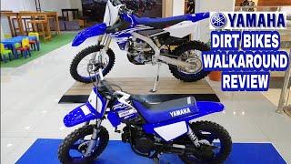 10. Yamaha Dirt Bikes Walkaround Review[YZ250FX, PW50, SEROW 250]