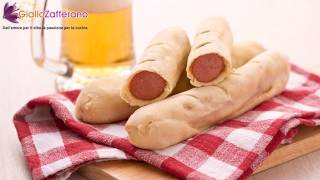 Hot dog wraps - quick recipe