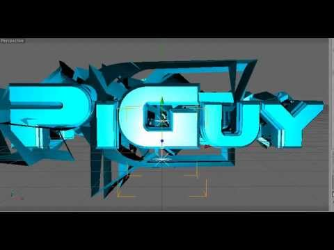 title graphics - Hi, this is a graphic that i made in Cinema 4D. I will be releasing the c4d template publicly after 2k views :D comment here or message me for download link,...
