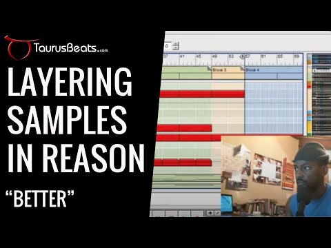 image for Layering Samples In Reason Sample Flip Beat BETTER