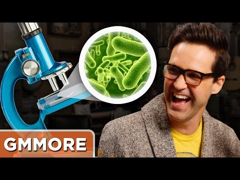 Live Microscope Guessing Game