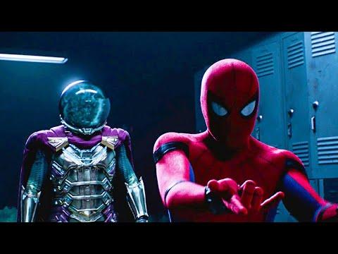 Spider-Man vs Mysterio - Mysterio's Illusion Scene | Spider-Man: Far From Home