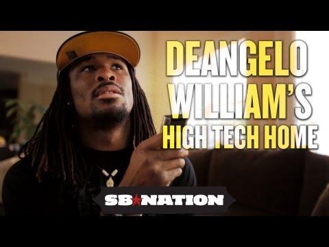 NFL Cribs 2012 – DeAngelo Williams' High Tech Home