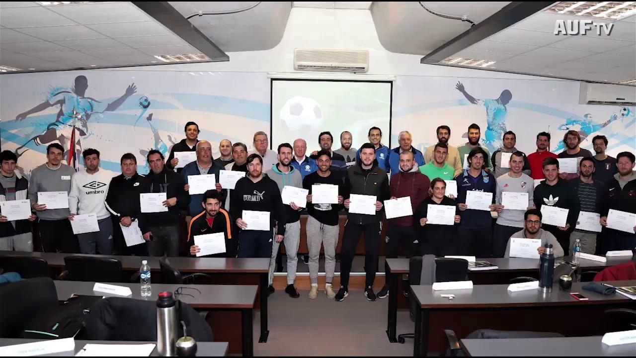 Curso AUF - CONMEBOL teórico-práctico de preparación física juvenil