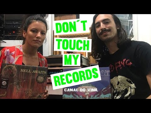 DON´T TOUCH MY RECORDS - CANAL DO VINIL