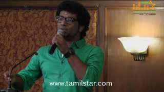 Singer Hari Charan at Raja vin Sangeetha Thirunaal Press Meet