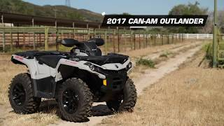 10. 2017 Can-Am Outlander 1000 4x4 ATV Review