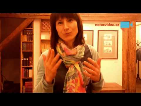 Rozhovor v muzeu v Jablonci nad Nisou