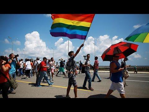 Κούβα: Ακτιβιστές υπέρ των δικαιωμάτων των ομοφυλόφιλων…