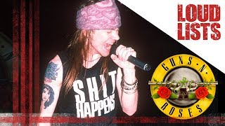 12 Unforgettable Axl Rose Onstage Moments