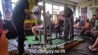 Single Lifts 2016 Bench Press