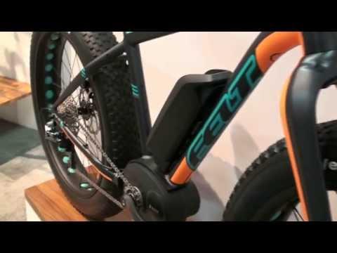 Felt Electric Bikes: Fat Electric Bike & Electric Mountain Bikes at Interbike 2013