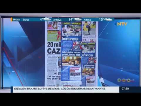 NTV - Güne Başlarken - Türkiye Küçükler, Yıldızlar ve Emektarlar Şampiyonaları - 25 Ocak 2017