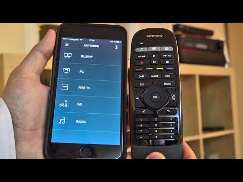 Test: Logitech Harmony Smart Control Hub... Eine Fernbedienung für alle Geräte