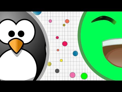 JELLY VS PENGUIN (AGAR.IO HUNGER GAMES)