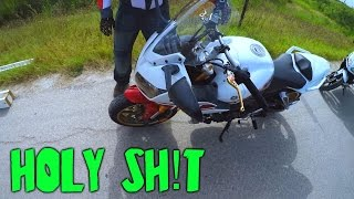 4. Riding a 2008 Yamaha FZ1 for the first time