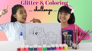 Video Glitter My Little Pony Coloring and Drawing For Kids MP3, 3GP, MP4, WEBM, AVI, FLV Mei 2019