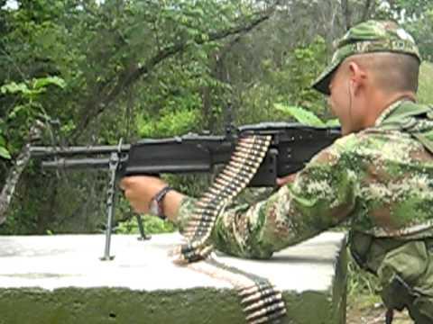 m60 - ENTRENAMIENTO EN LA ESCUELA MILITAR DE SUBOFICIALES.
