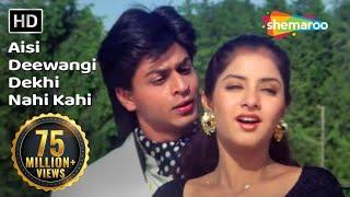 Video Aisi Deewangi Dekhi Nahi Kahi | Deewana Song | Shahrukh | Divya | Most Viewed Song | #YouTubeRewind MP3, 3GP, MP4, WEBM, AVI, FLV Oktober 2018
