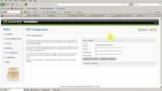 จูมล่า : การติดตั้ง Joomla Install