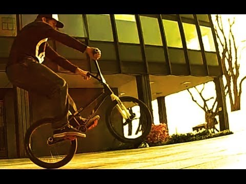 BMX: Craziest Backwards Manual 180 ever!?!? :)