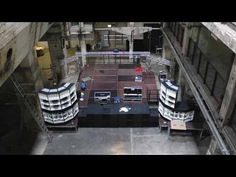 Lambda QX-Series installation at Tresor Berlin Kraftwerk. The build up...