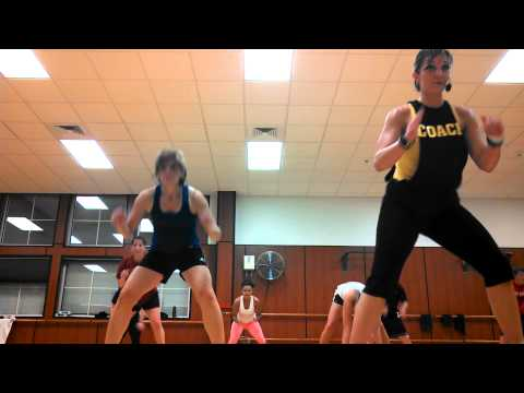Insanity Group Fitness Class