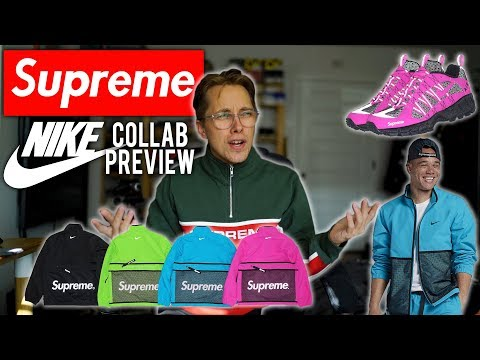 SUPREME X NIKE COLLAB PREVIEW + OPINIONS