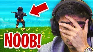 Watching MY FIRST FORTNITE VIDEO