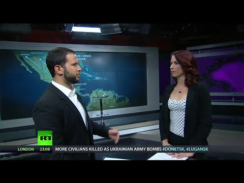 crisis - Abby Martin Breaks the Set on MSNBC's Israel Bias, Legalizing Prostitution, Immigration Crisis Worsening & A History of Israel's Occupation. LIKE Breaking the Set @ http://fb.me/JournalistAbb...