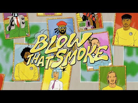 Blow That Smoke <br>Lyric Video [Feat. Tove Lo]<br><font color='#ED1C24'>MAJOR LAZER</font>
