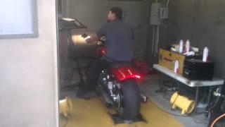 8. 2013 Harley Davidson V-Rod Muscle Baseline Dyno Run