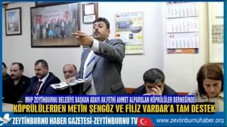 MHP Zeytinburnu Belediye Başkan Adayı Av Fethi Ahmet Alparslan Köprülüler Derneğinde