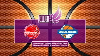 Olimpia Grodno – Young Angels Kosice – EWBL 2019/20