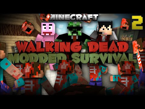 "Minecraft Walking Dead Mod Pack ""Finding the CURE"" 