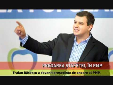 Predare de ștafetă la PMP. Pleacă Băsescu, vine Tomac