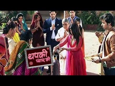 Pandey Family Performs Shivji Puja With Thapki-Bih
