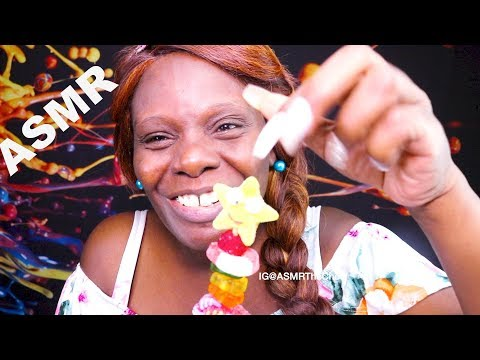 Makeup ASMR Chewing Eating Sounds | Tap Tapping