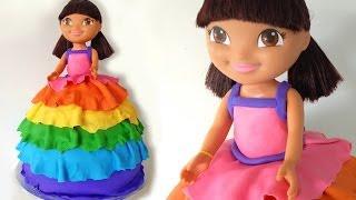 Dora Birthday Cake HOW TO COOK THAT Dora The Explorer - YouTube