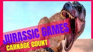 Video The Jurassic Games (2018) Carnage Count MP3, 3GP, MP4, WEBM, AVI, FLV Desember 2018