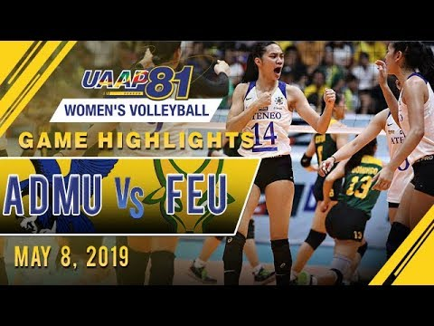 UAAP 81 WV Final Four: ADMU vs. FEU | Game Highlights | May 8, 2019 - Thời lượng: 9:05.