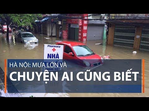 Hà Nội: Mưa lớn và chuyện ai cũng biết | VTC1 - Thời lượng: 105 giây.
