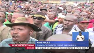 Monday Night News: Political Face Off Between Jubilee And CORD In Nyatike Ward, 24/10/2016