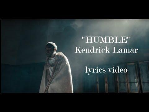 Kendrick Lamar - HUMBLE. Lyrics