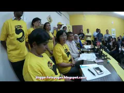 Bersih dibiayai sepenuhnya oleh penyokong tempatan bukan orang asing tegas Maria Chin