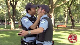Gay Cops In Love Prank