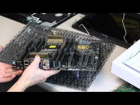 Asus Z10PE D16 WS Motherboard Box Opening and Overview
