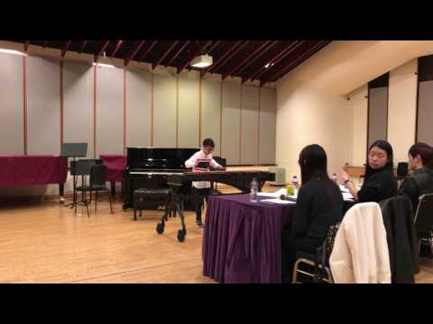 Nectan's performance on Xylophone @ FIRST Hong Kong Students Music Competition 2017