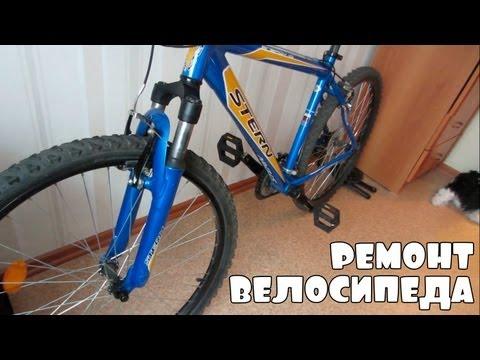 Ремонт велосипеда своими руками амортизатор